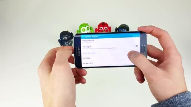 Samsung Galaxy S6 /S6 Edge Camera Review (4K)