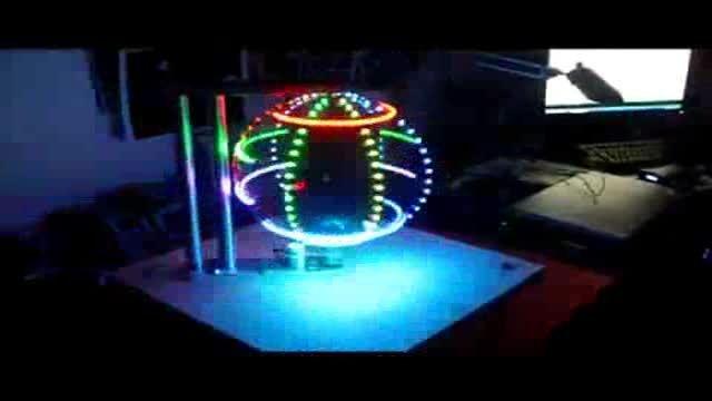 نورپردازی نوین با المان سه بعدی نوری