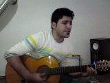 کلیپ گیتار زدن-کلیپ گیتار-آهنگ بمون از محسن یگانه اجرای محمد راد