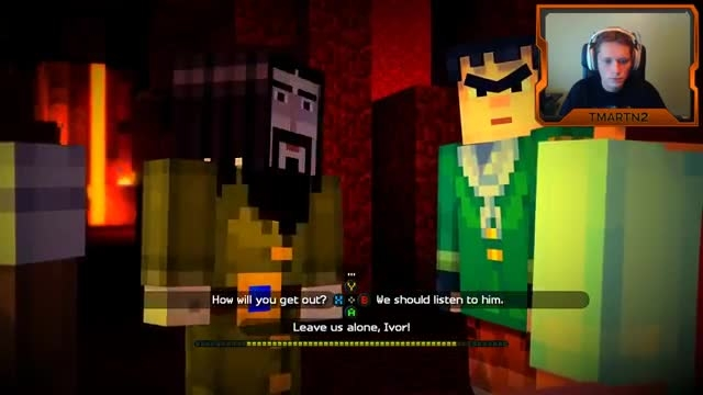 Tmartn play minecraft story mode ep4