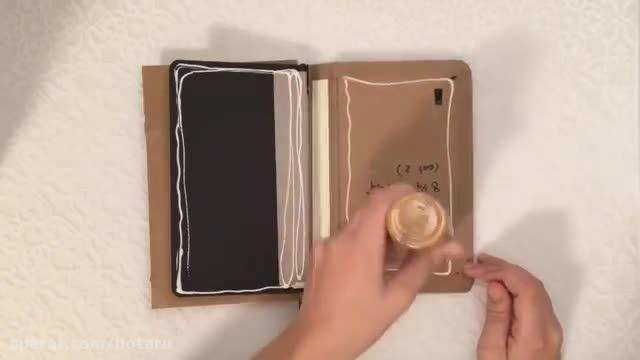 چگونه اسکچ بوک درست کنیم قسمت 2