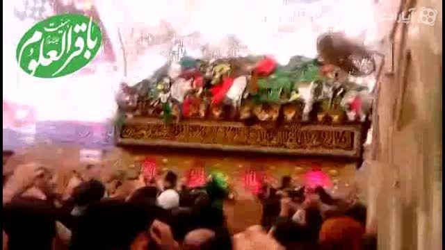 ضریح حضرت عباس علیه السلام در ایام اربعین