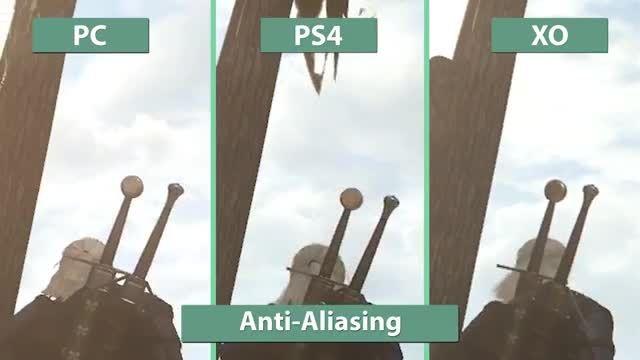مقایسه گرافیک The Witcher 3 در PC، PS4 و Xbox One