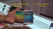LG optimus G2 vs galaxy S4