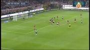گل بازی میلان 0 - 1 یوونتوس