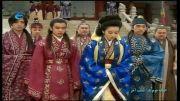 خداحافظی كردن بانو سوسانو از امپراطور جومونگ