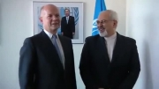 دیدار ظریف و وزیر خارجه انگلیس