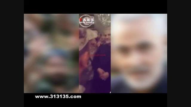 بیعت سرباز مقاومت با رهبر انقلاب در حضور سردار سلیمانی