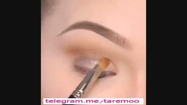 آرایش چشم با خط چشم کشیده در تارمو