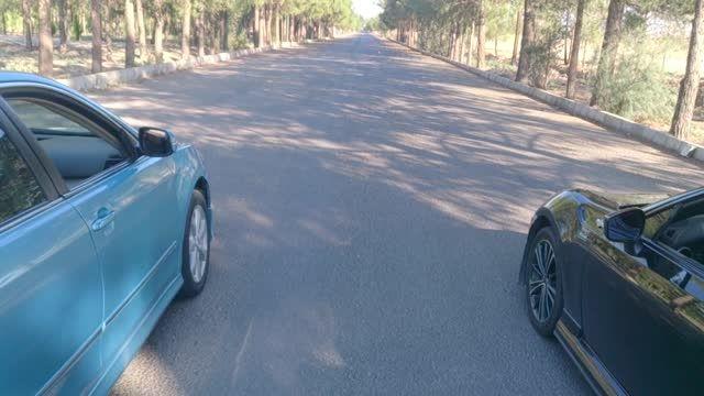 درگ تویوتا کمری دنده ای (منوال) با تویوتا GT86 تیون شده