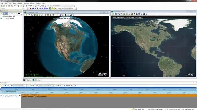کار با ماهواره های GPS در Satellite Tool Kit