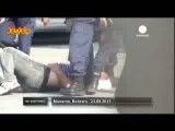 صحنه های فجیع سرکوب مردم در بحرین در خیابان های بحرین