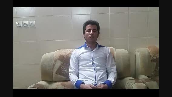 ابوالفضل احمدی طاهری ازکاشان  درقسمت خوانندگی پاپ