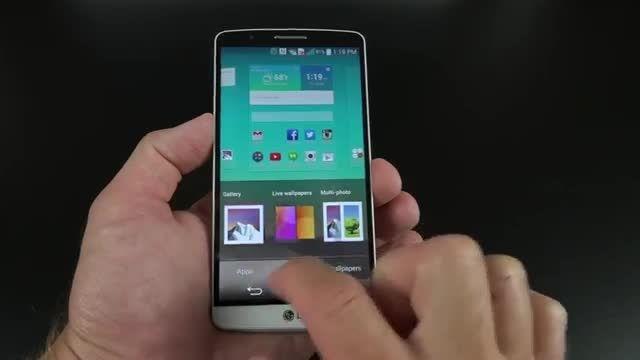 جعبه گشایی LG G3 از بامیرو