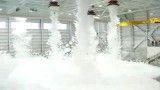 3- سیستم اطفاء حریق فوم به صورت اتوماتیک در آشیانه هواپیما