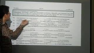 تحلیل زبان انگلیسی کنکور ریاضی 94 توسط پوریا رضائی