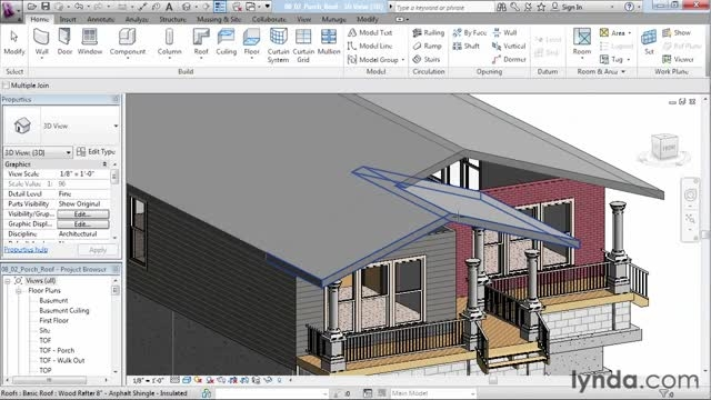 Designing a House in Revit Architecture with Brian Myer