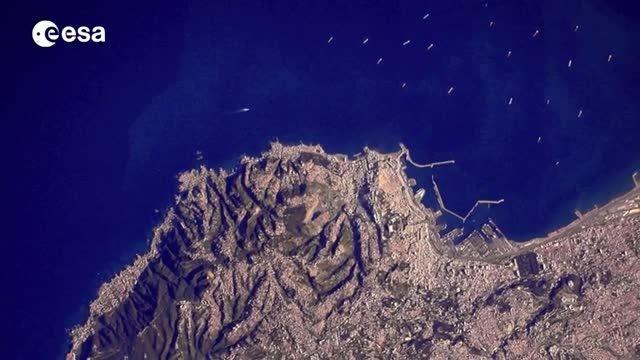 تصاویر فوق العاده زمین از نگاه فضانورد در ایستگاه فضایی