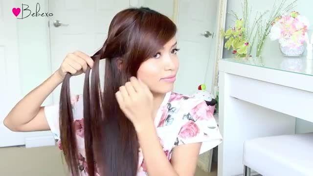 آموزش 3 مدل بافت موی شیک و راحت