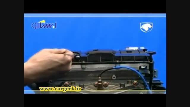 فیلم کامل تشریح اجزاء و باز کردن موتور TU5 (پژو206-207)