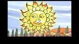 داستان انگلیسی کودکانه خورشید و باد