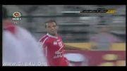 گل تمام کننده لوپز در بازی تراکتور استقلال