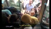 وقتی زنان سوری تروریست ها رو زیر مشت و لگد میگیرن