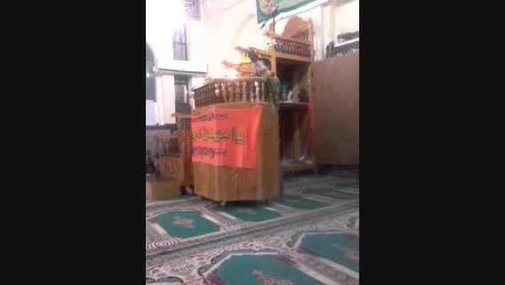 مولودی خوانی حاج سید سلیمان سلیمانی در میلاد امام حسن