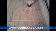 نمونه کار منبت سی ان سی چوب (منبت چوب)