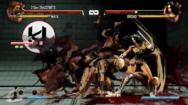 کمبو ویدئو: Killer Instinct - Maya