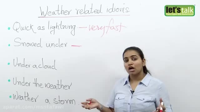 آموزش اصطلاحات رایج زبان انگلیسی (هواشناسی) 4