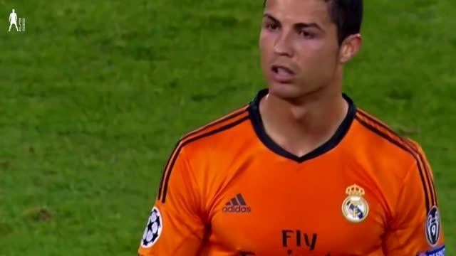 هایلایت بازی کریستیانو رونالدو مقابل یوونتوس (2013)