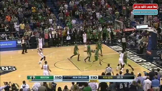 دانلود کلیپ 10 حرکت زیبای Anthony Davis در NBA