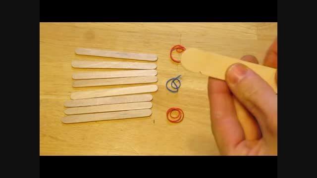 ساخت منجنیق با روشی ساده