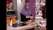 آموزش تهیه ماربل کیوی یا کیک مرمری