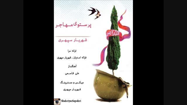 پرستوی مهاجر شهریار سپهری