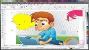 آموزش طراحی کاراکتر کارتونی
