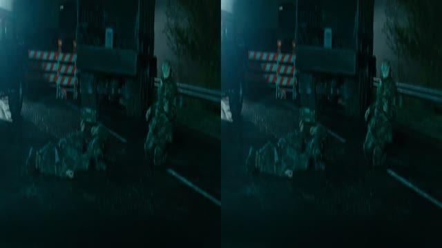 قسمت کوتاه فیلم سه بعدی Day of the Dead 2008 3D HD