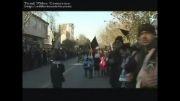 مداحی کربلائی غلامعلی جابری- دسته سینه زنی خیابان بهار تبریز