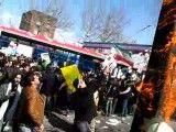 قسمت 3 - آتش زدن ابلیسک در 22 بهمن سال 1390 در تهران میدان استادمعین