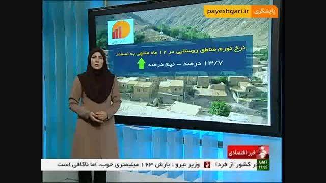 مرکز آمار ایران نرخ تورم روستایی را اعلام کرد