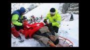 اورژانس در صحنه حادثه