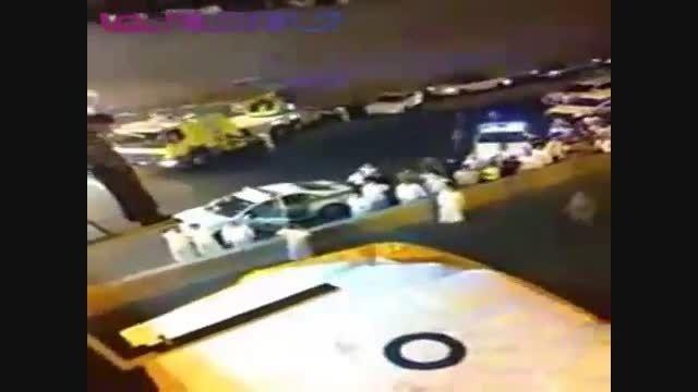کمک رسانی به سبک سعودی ها+فیلم کلیپ ویدیو امداد نجات
