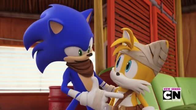 انیمیشن سریالی sonic boom قسمت اول