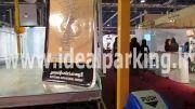 آسانسور ماشین شرکت ایده آل پارک در نمایشگاه بین المللی مشهد