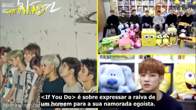 LEGENDADO PT-BR] 151120 - GOT7 no The Show Tudou Show (