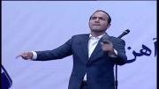 کل کل و طنز خنده دار حسن ریوندی و اکبرنژاد در جشن راه آهن 92