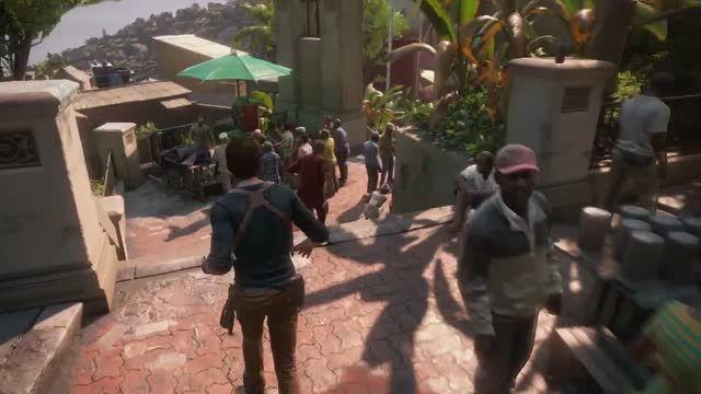 گیم پلی جدید بازی uncharted 4 : a thief's end