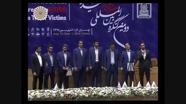 """همخوانی گروه خانه سرود اوج با عنوان """"ایران خاک سربلند"""""""