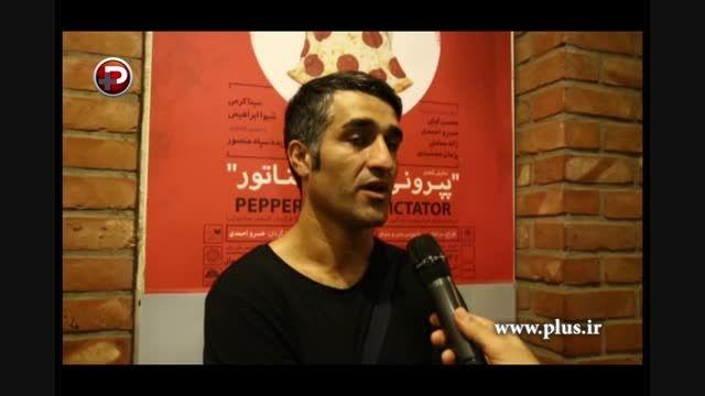 تئاتر پژمان جمشیدی پیش چشم تحلیلگر سرشناس فوتبال ایران!